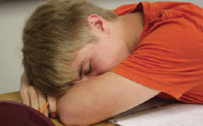 Sleep deprived students suffer severe scholastic setbacks