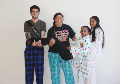 Spirit Day 1: Pajama Day!