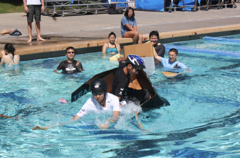 Physics boat races cause a splash