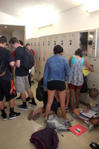 Everyone wants a first floor locker assignment