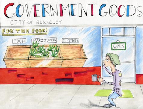 Berkeley's needy are getting 'weedy'