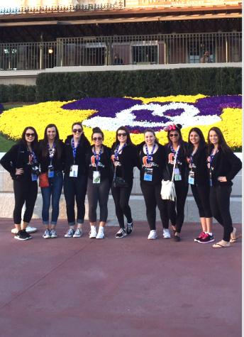Cheerleaders take on Disney World