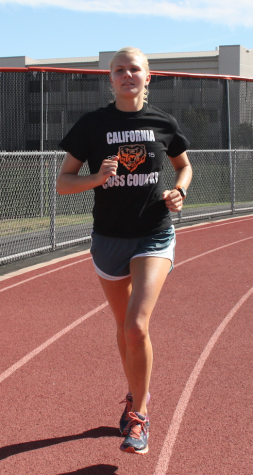 Cal senior competes in triathlons