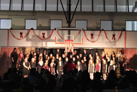 Cal High choir sings the night away