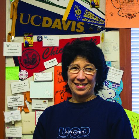 College, career counselor retires after 10 years