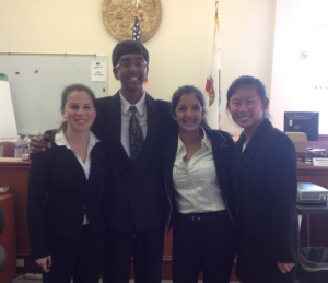 Mock trial places 2nd at competition