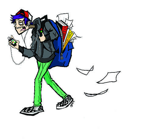 Backpacks becoming a weighty issue