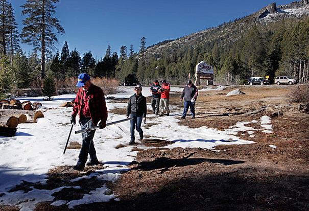 Drought hits winter sports hard
