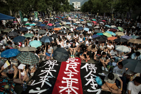 Hong Kong protests misguided