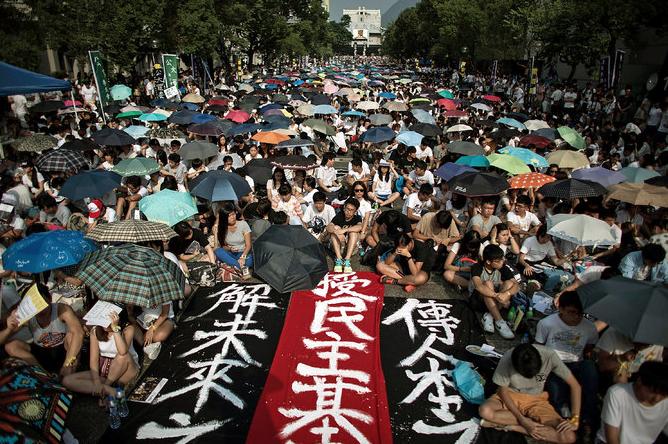 Hong Kong protests misguided