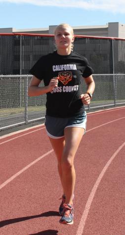 Cal senior competes in triathlons