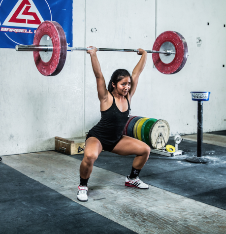 Third degree black belt takes on weightlifting