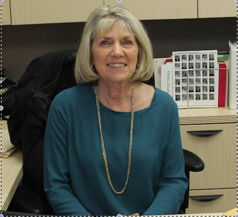 Until early June, the Cal High principal's office will be occupied by former assistant principal Janet Terranova.