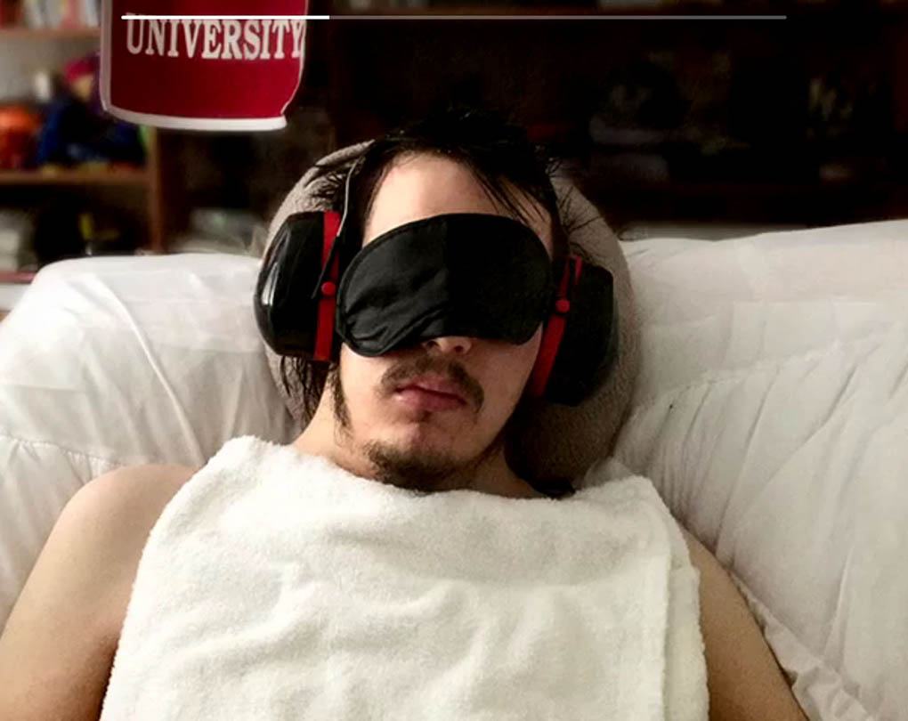 Cal alumnus Tom Camenzind has had his life changed by a disease called M.E. He is now unable to perform simple tasks and go about his life as usual, and has been reduced to lying in bed all day.