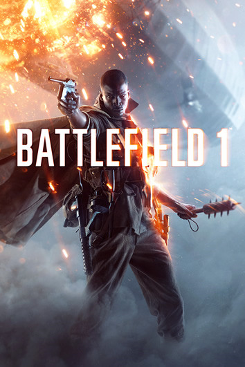 "The cover of the hit ""Battlefield 1'"" promises action-filled adventures guaraunteed to excite gamers."