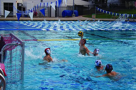Junior Tommy Salisbury winds up to score against Bishop O'Dowd on Oct. 25. The boys earned the No. 15 seed in NCS.