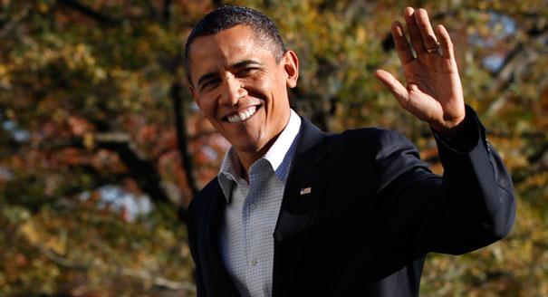 Former+President+Barack+Obama+waving+goodbye+one+last+time.+
