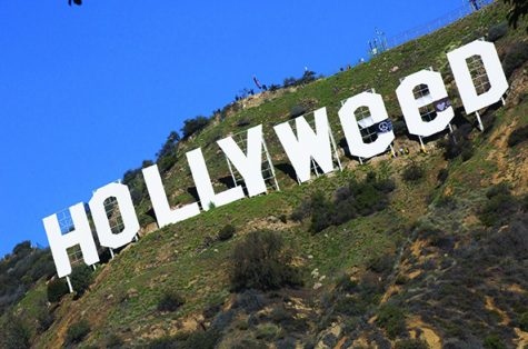 Zachary Fernandez changed the Hollywood sign to pay homage to a previous prank, or maybe he just had high hopes.