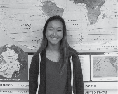 Kristen Gao will be attending three different colleges, located in Los Angeles, Hong Kong, within the next four years to receive three degrees in Business Administration.