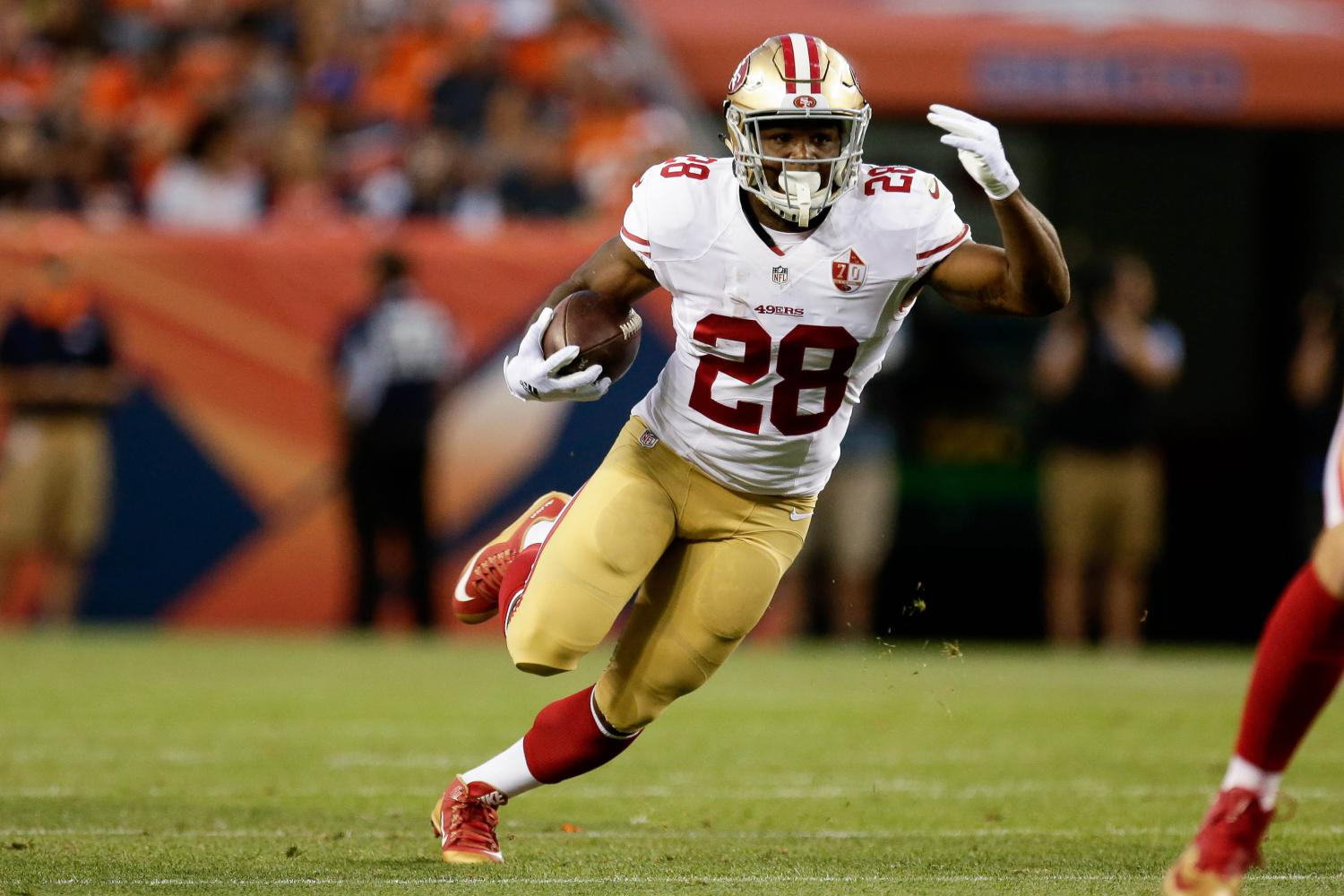 Carlos Hyde is off and running this season, even if the 49ers are not.