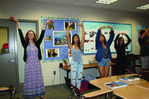 Ballet brings excitement to French class