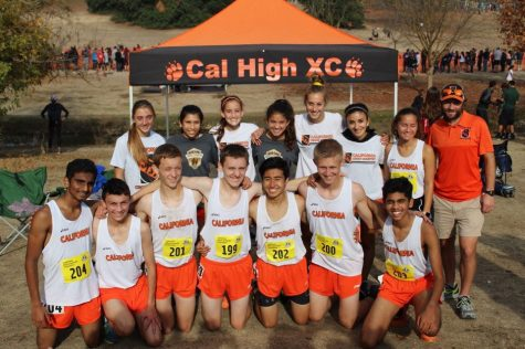 Cross country teams run to state