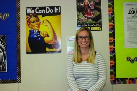 Teacher of the Year Shanna Gagnon inspires students