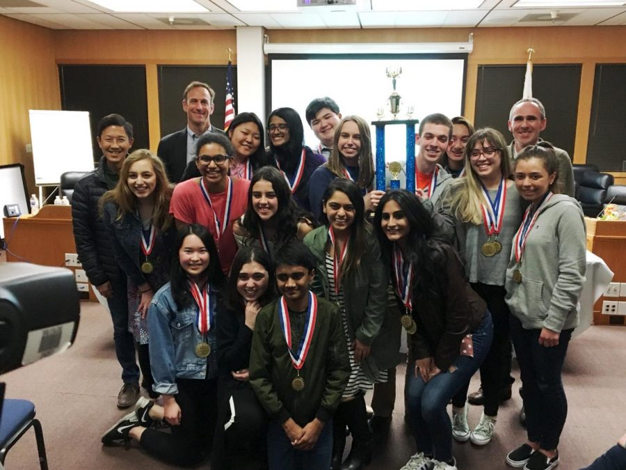 Mock trial team returns to state