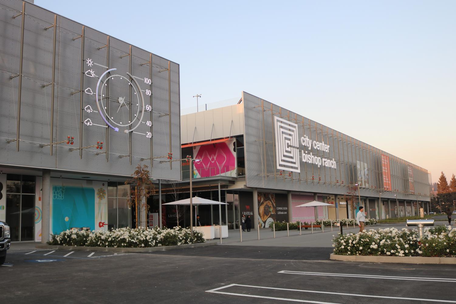 The City Center Bishop Ranch, which has been under construction since May of 2017, opened on Nov. 8. The 300,000 square-foot shopping center on Bollinger Canyon Road features 70 different shops and restaurants.