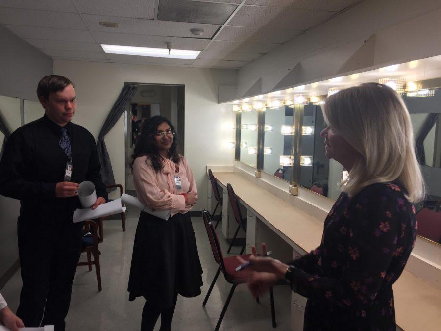 Californian editor interviews ABC News correspondent