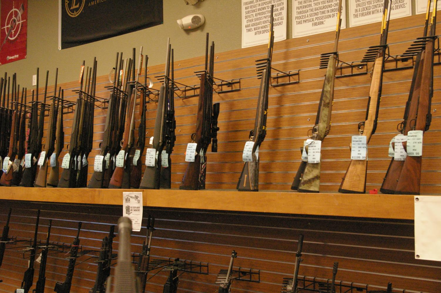 A new state law increases the minimum age to buy a rifle or shotgun from 18 to 21 years old.
