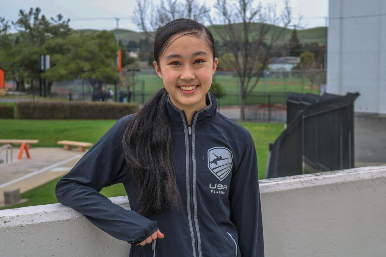 Sophomore Chuyi Zhang.