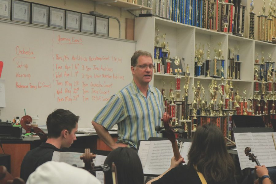 Band+director+Kent+Johnson+has+taught+at+Cal+High+for+the+past+15+years.