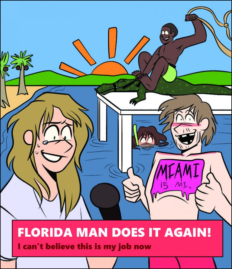 Welcome to Florida, a bruise on America's hip