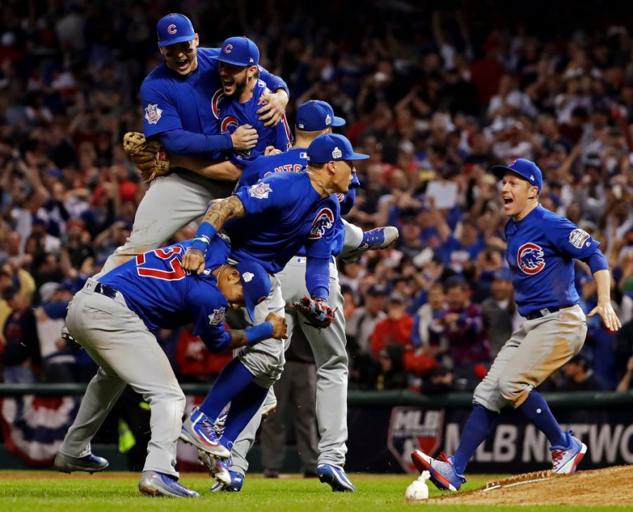 In+2016%2C+the+Chicago+Cubs+won+their+first+World+Series+in+108+years%2C+defeating+the+Cleveland+Indians+in+Game+7.+Photo+Courtesy+of+The+New+York+Times.