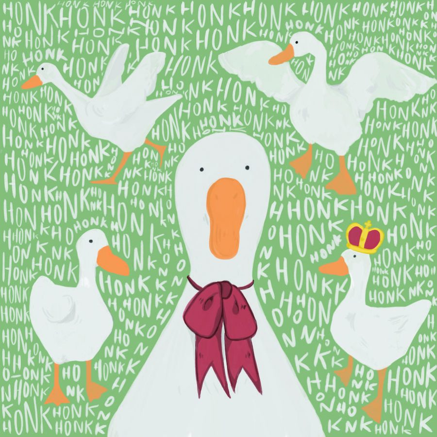 """Duck, duck, duck, """"Untitled Goose Game""""!"""