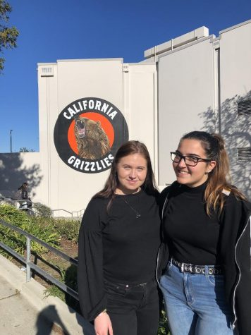 Marta Albertoni from Italy and Vilma Nilson from Sweden (pictured left to right) had to be sent back home after school closed on March 13.