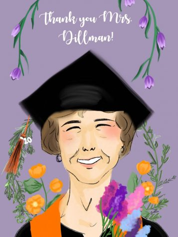 Jean Dillman graduates with the Class of 2020 and moves on to a new chapter in her life.