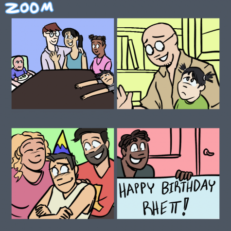 Many families have gathered over virtual platforms such as Zoom to celebrate holidays together.