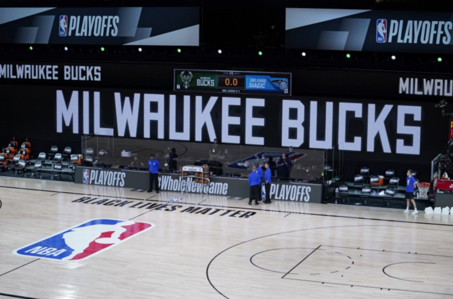 The+Milwaukee+Bucks+held+a+strike+during+the+NBA+playoffs+this+week%2C+leaving+a+profound+effect+on+many+other+sports+associations+starting+up+games.