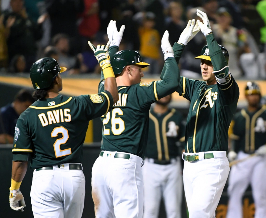The Oakland A's earned the second seed in the American League playoffs after winning the AL West for the first time since 2013.