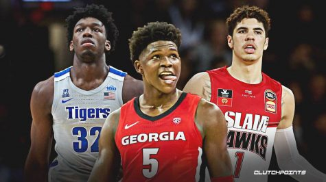 With the NBA Draft approaching next week, three highly touted prospects are being heavily watched by the Golden State Warriors, who have the No. 2 overall pick. These players include projected lottery picks, from left to right, James Wiseman from Memphis University, Anthony Edwards from University of Georgia, and LaMelo Ball, who played in the Lithuanian Basketball League last season.