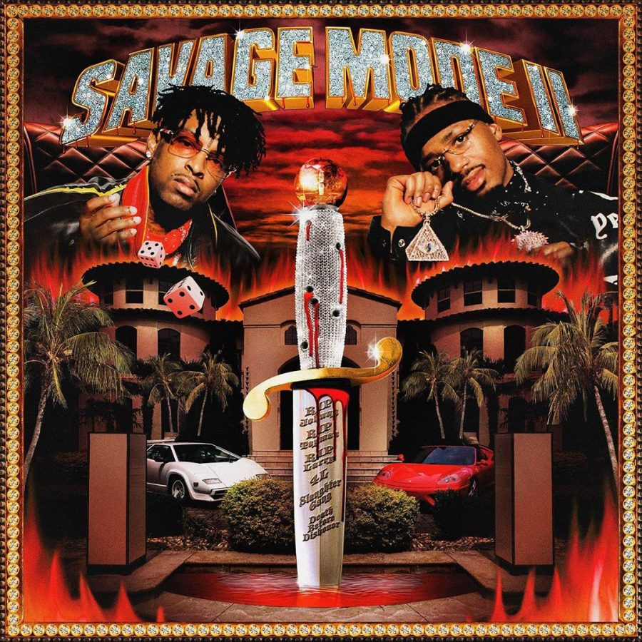 The+Savage+Mode+II+album+cover+was+seen+for+the+first+time+on+producer+Metro+Boomin%E2%80%99s+Instagram+on+Oct.+3%2C+the+day+after+it+was+released.+Many+people+have+been+quick+to+point+out+that+the+style+is+reminiscent+of+late+%E2%80%9990s+album+art.