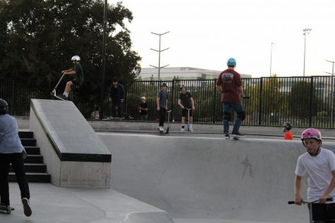 Many teens and kids recently enjoyed the San Ramon skate park. While a sign at the park