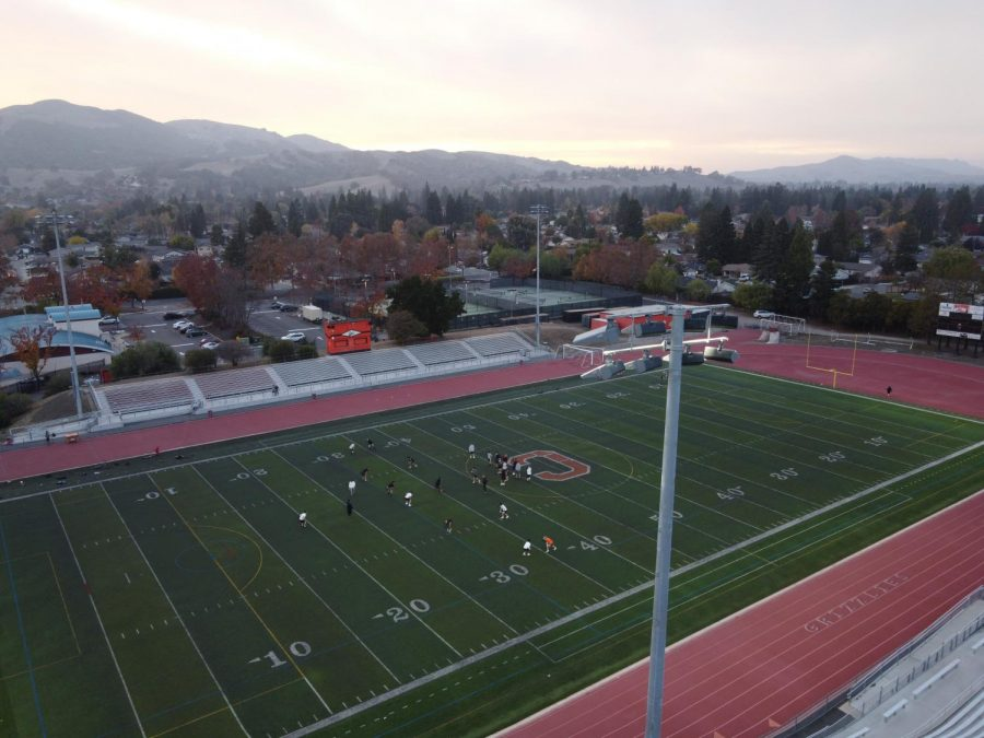 Cal High's football team and other sports were permitted to practice in small groups until the board  suspended these meetings this week. Because of new health guidelines, there will be no competitions until at least Jan. 25.