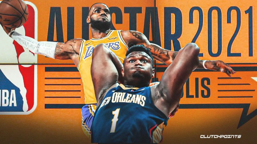 Los Angeles Lakers star LeBron James will lead his team against the Pelicans' Zion Williamson and the rest of Kevin Durant's team in Sunday's NBA All-Star Game.