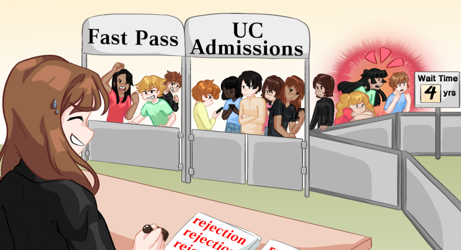 They dont call the college admissions process a crapshoot for nothing.