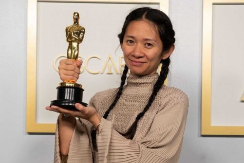 "Chloe Zhao became the first Asian female to win Best Director. Zhao directed the film ""Nomadland"", which also won Best Picture at Sunday"