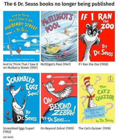 Several of Dr. Seuss