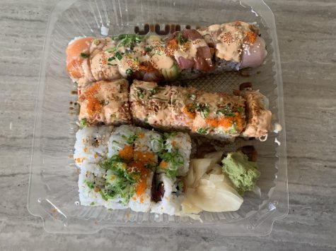 The spicy tuna roll from Sakiya Sushi was among the tasty sushi rolls staff writer Saachi Sharma tasted on her search to find the city